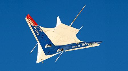 NASA develops aircraft that uses half less fuel